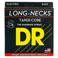 DR TMH-45 Long Necks Tapered Комплект струн для бас-гитары, сталь, 45-105