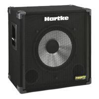 HARTKE 115TP Акустическая басовая система 150 W, 1х15'' алюминиевый драйвер 150 ватт/ 8ом