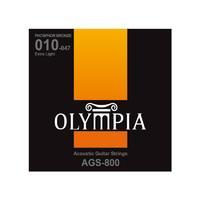 Olympia AGS800 струны для акуст.гитары Phosphor Bronze (10-14-23w-30-39-47)