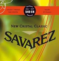 Savarez 540CR New Cristal Classic Струны для классической гитары
