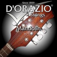 D'ORAZIO 115 Silverplated Струны для мандолин (Пр-во Италия) (10,14,24,34) 8 струн