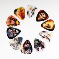 Alice AP-10R1 Медиаторы разноцветные, 10шт, рисунок на одной стороне, 0,71-8,81мм
