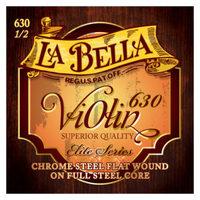 La Bella 630-1/2 Комплект струн для скрипки размером 1/2, сталь