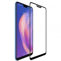 FUMIKO Защитное стекло для Xiaomi Mi 8 Lite 3D черное пакет