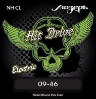 Мозеръ NH-CL Hit Drive Custom Light Комплект струн для электрогитары, 9-46