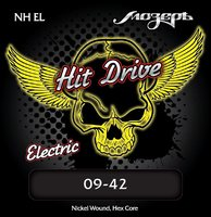 Мозеръ NH-EL Hit Drive Extra Light Комплект струн для электрогитары, 9-42