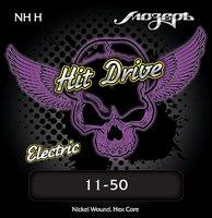 Мозеръ NH-H Hit Drive Heavy Комплект струн для электрогитары, 11-50
