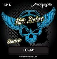 Мозеръ NH-L Hit Drive Light Комплект струн для электрогитары, 10-46