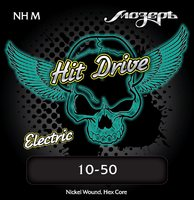Мозеръ NH-M Medium Hit Drive Комплект струн для электрогитары, 10-50