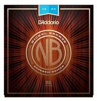 D'Addario NB1253 Nickel Bronze Комплект струн для акустической гитары, Light, 12-53