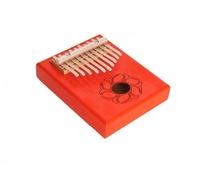 Мозеръ KMKr-1-RD Piastra Калимба, резонаторная, 10 язычков, прямоугольная, красная