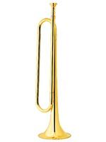 DEKKO Горн пионерский, размер 48*12*12 см, мундштук в комплекте