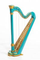 Resonance Harps MLH0016 Capris Арфа 21 струнная (A4-G1), цвет бирюзовый глянцевый
