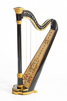 Resonance Harps MLH0014 Capris Арфа 21 струнная (A4-G1), цвет черный глянцевый