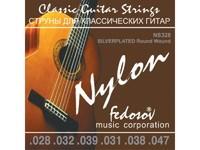 Fedosov NS328 Silverplated Round Wound Комплект струн для классической гитары, посеребр.медь, 28-47