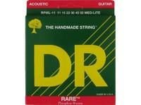 DR RPML-11 Rare Комплект струн для акустической гитары, фосфорная бронза, 11-50