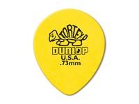 Dunlop 413R.73 Tortex Teardrop Медиаторы, капля, толщина 0,73мм