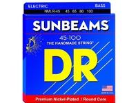 DR NMLR-45 SUNBEAMS Комплект струн для 4-струнной бас-гитары