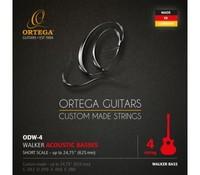 Ortega ODW-4 D-Walker Комплект струн для акустической бас-гитары, посеребренные, 43-80