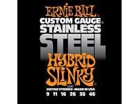 Ernie Ball P02247 Hybrid Slinky Steel Комплект струн для электрогитары, сталь, 9-46
