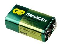 """GP 1604G(6F22)-B Элемент питания GP """"КРОНА"""" солевой, напряжение 9В, номинальная емкость 0,35 (Ач), упакованы по [1] штуке"""