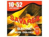 X50LM Explosion Комплект струн для электрогитары, никелированные, 10-52, Savarez