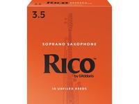 Rico RIA1035 Rico Трости для саксофона сопрано, размер 3.5, 10шт