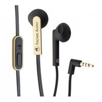 FE-155-RC-Gold Наушники внутриканальные, с микрофоном, черный/золото, Fischer Audio