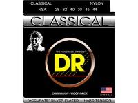 DR NSA Комплект струн для классической гитары, посеребренные