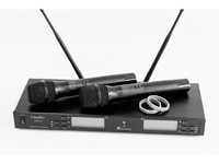 LAudio LS-Q5-2M Двухканальная вокальная радиосистема, 2 ручных передатчика