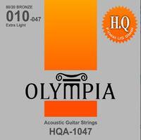Olympia HQA 1047 Струны для акустической гитары, 80/20 Bronze, 10-47
