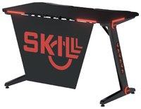 Skyland SKILL STG 1260 Игровой стол чёрный (1200 x 600 x 740 мм, металл, ЛДСП, карбон)