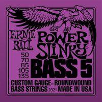 Ernie Ball P02821 BASS 5-STR power, струны