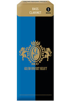 Rico RGB05SCL300 Grand Concert Select Трости для кларнета бас, размер 3.0, 5шт