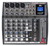 Phonic AM 440DP Микшерный пульт 8-ми канальный