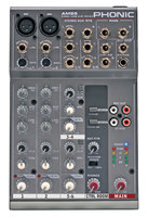 Phonic AM 85 Микшерный пульт 6-и канальный