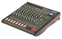 Phonic CELEUS 600 Микшерный пульт 12-канальный, USB плеер/рекордер, USB аудиоинтерфейс, Bluetooth