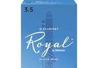 Rico RBB1035 Rico Royal Трости для кларнета Eb, размер 3.5, 10шт