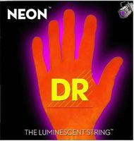 DR NOE-9 Neon Orange Комплект струн для электрогитары, никелированные, с покрытием, 9-42