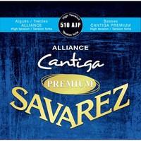 Savarez 510AJP Alliance Cantiga Blue Premium high tension струны для классической гитары, нейлон