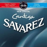 Savarez 510CRJ New Cristal Cantiga mixed tension Струны для классической гитары, нейлон