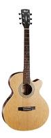 Cort SFX-ME-OP SFX Series Электро-акустическая гитара, с вырезом, цвет натуральный