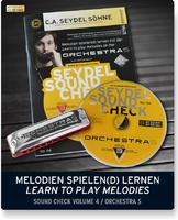 Seydel Sohne 40005 Soundcheck Vol.4 ORCHESTRA S Beginner Pack Губная гармошка +буклет и CD