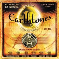 KERLY KQXA12-1048 Earthtones Phosphor Bronze Tempered струны для 12-струнной акустической гитары
