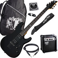 SCHECTER SGR SUNSET GUITAR PACK BLK Гитарный комплект