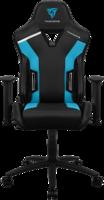 ThunderX3 TC3 Игровое кресло, чёрно-голубое
