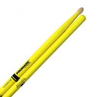 ProMark TX5BW-YELLOW 5B Барабанные палочки, желтые, орех гикори, деревянный наконечник