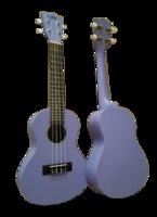 Kaimana UK-23M PPM Укулеле концертная, фиолетовый матовый