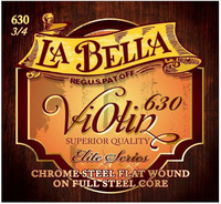 La Bella 630-3/4 Комплект струн для скрипки размером 3/4, сталь
