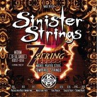 KERLY KQXS7-1056 Sinister NPS7 Tempered струны для 7-струнной электрогитары